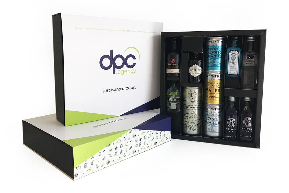 DPC branded boxes