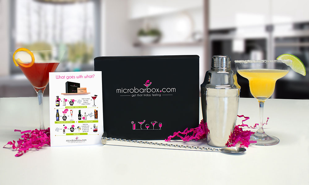 MicroBarBox cocktail set